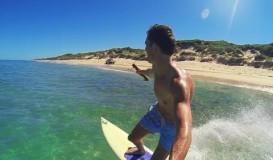 Surfing behind a car - GoPro edit